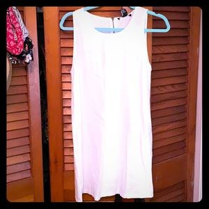 Cream colored linen dress